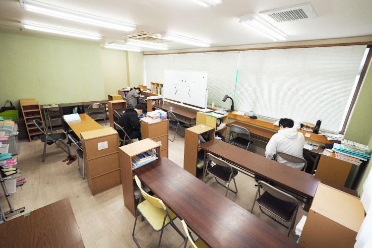 2F自習室(主に昼間部生徒用)