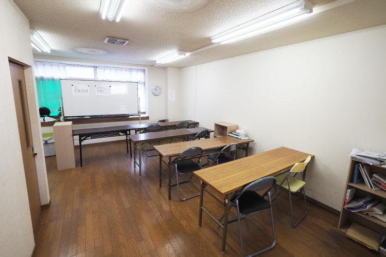 3F自習室(主に夜間部生徒用)